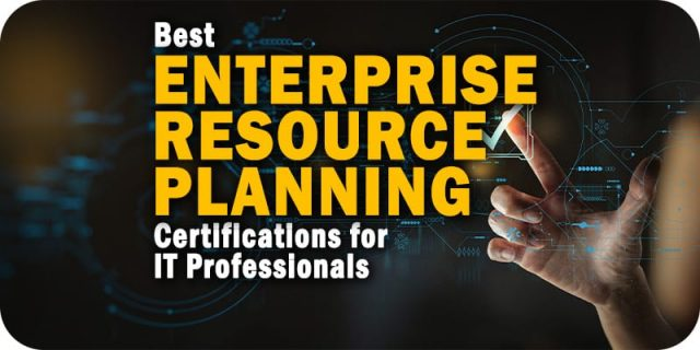 The Best ERP Certifications Available for IT Professionals